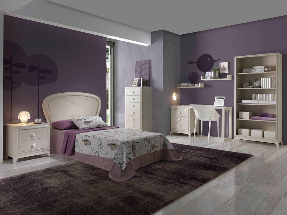 Dormitorio juvenil cl sico espacios decoraci n ortega mueblistas Dormitorio juvenil clasico