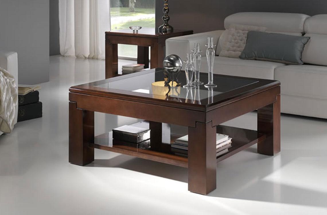Mesas de centro cl sico espacios decoraci n ortega - Mesa de centro lack ...
